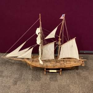 Scale model of the Albatross Ship