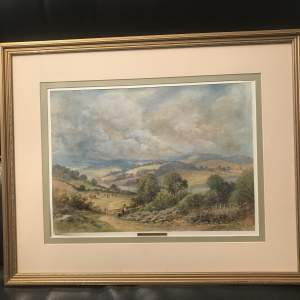Henry Parker signed 20th Century Watercolour of Dartmouth