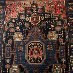 Superb Old Hand Knotted Persian Rug Nehavend Wonderful Design