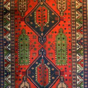 Superb Old Hand Knotted Caucasus Rug Kazak Wonderful Colours