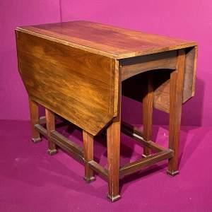 Arts and Crafts Mahogany Dining Table