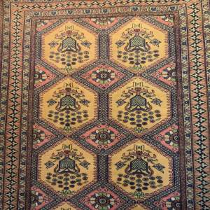 Superb Quality Hand Knotted Bokhara Rug Unusual Design