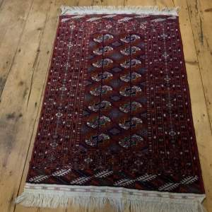 Superb Quality Hand Knotted Afghan Rug Turkoman In Tekke Design