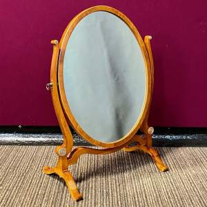 Burr Walnut Swing Mirror