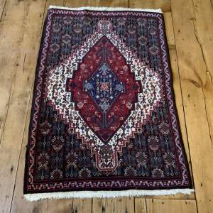 Superb Quality Hand Knotted Persian Rug Sennah High Knot Count