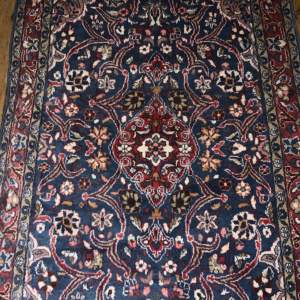 Hand Knotted Persian Rug Saruk Floral Medallion Design Wonderful