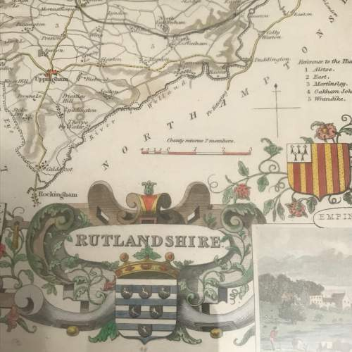 Old Map of Rutlandshire image-4