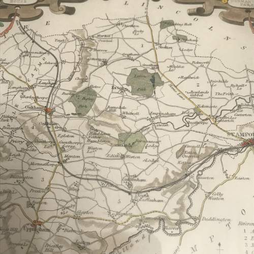 Old Map of Rutlandshire image-6