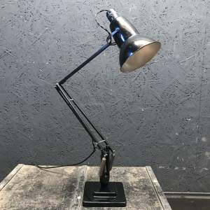 Early Herbert Terry 1227 Anglepoise Lamp Original Black Paint