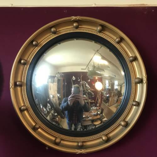 Vintage Convex Mirror by Atsonea image-1