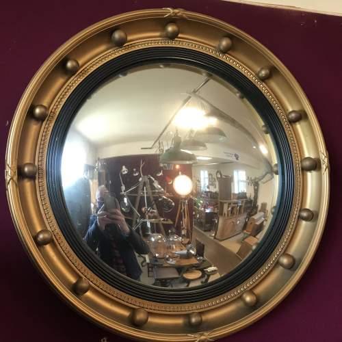 Vintage Convex Mirror by Atsonea image-3