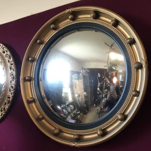 Vintage Convex Mirror by Atsonea image-4