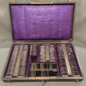 Late 19th Century Set of Ophthalmic Trial Lenses