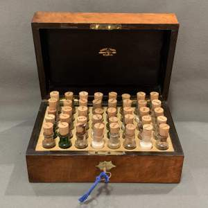 Late 19th Century Homeopathic Box
