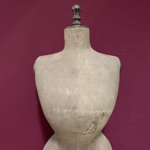 Victorian Nipped Waist Mannequin in Faded Black image-2