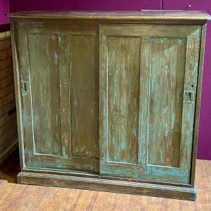 Great Northern Railway GNR Pitch Pine Cupboard
