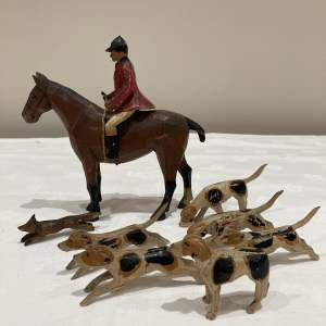 Forest Toys Wooden Painted Hunting Set