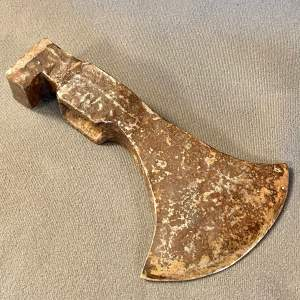 16th Century Metal Axe Head