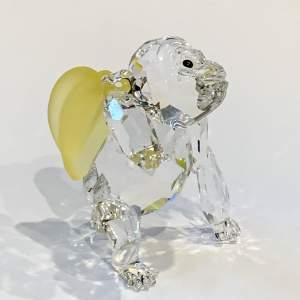 Swarovski Crystal Young Gorilla