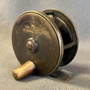 Army and Navy Fly Fishing Reel. 2.75 inch Plate Wind
