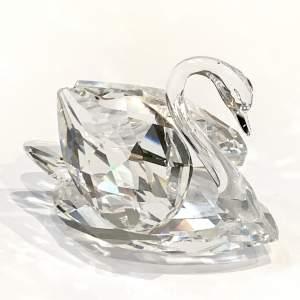 Swarovski Crystal Large Swan