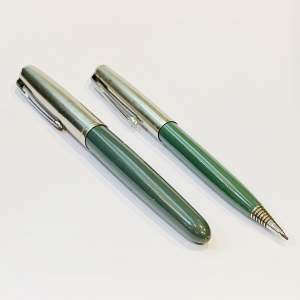 Parker 51 Fountain Pen and Pencil