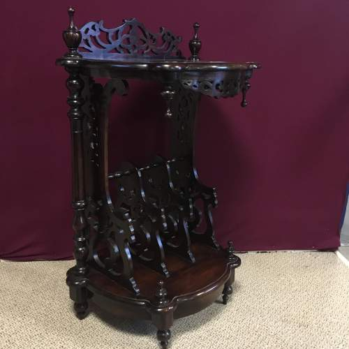 Mahogany Canterbury in the Victorian Style image-2
