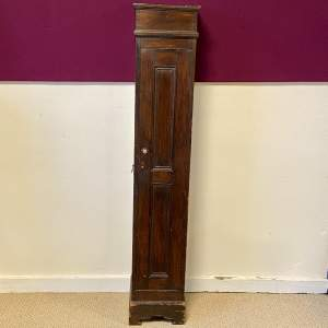 19th Century Mahogany Gun Cabinet with Cartridge Compartment
