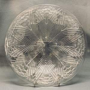 Lalique Large Glass Charger