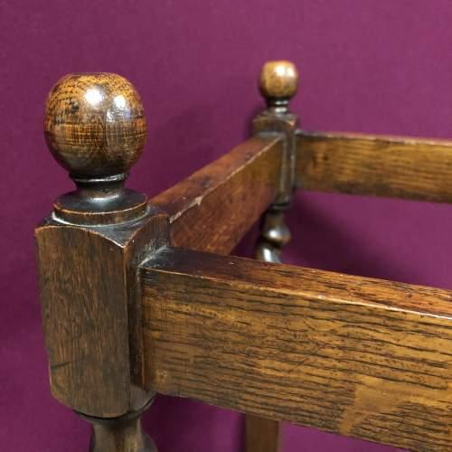 Early 20th Century Barleytwist Oak Stick Stand image-3