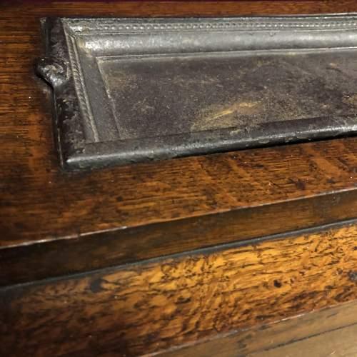 Early 20th Century Barleytwist Oak Stick Stand image-4