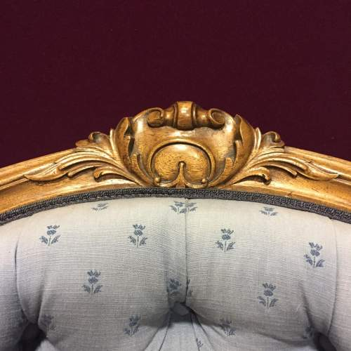 Early Victorian Upholstered Armchair image-5