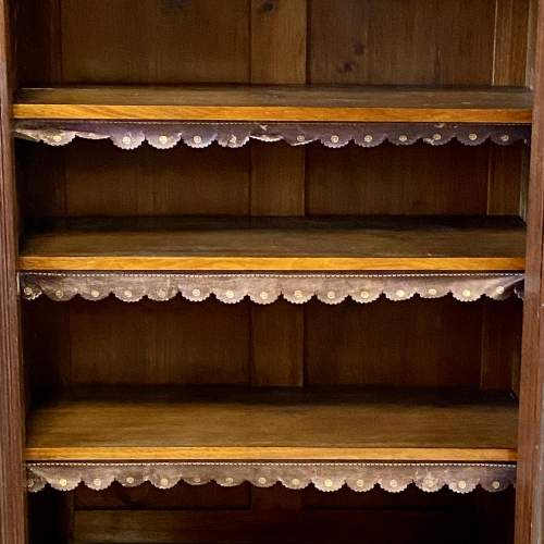 Late Victorian Mahogany Bookcase Display Cabinet image-4