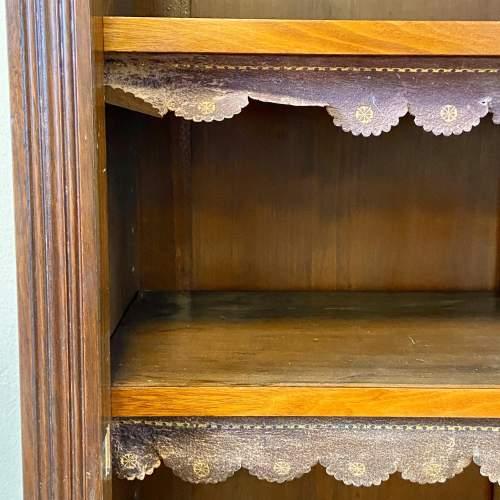 Late Victorian Mahogany Bookcase Display Cabinet image-6