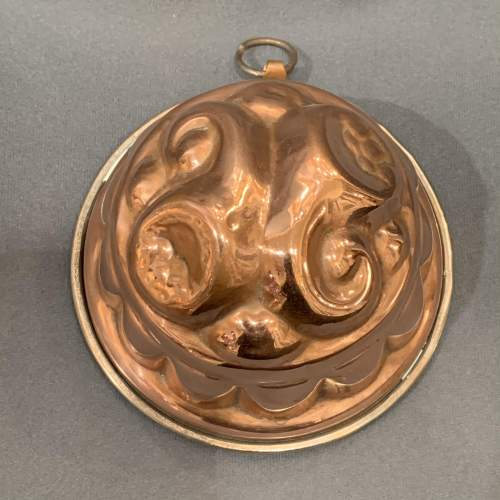 20th Century Copper Jelly Mould image-2