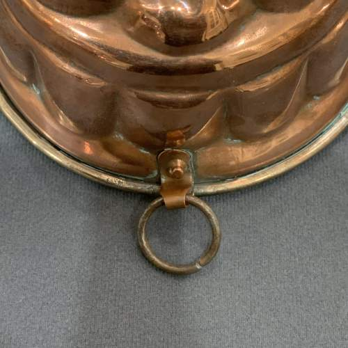 20th Century Copper Jelly Mould image-4