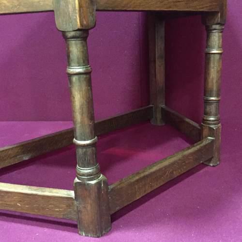 Solid Oak Carved Cupboard image-4