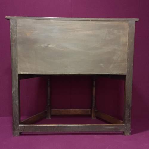 Solid Oak Carved Cupboard image-5