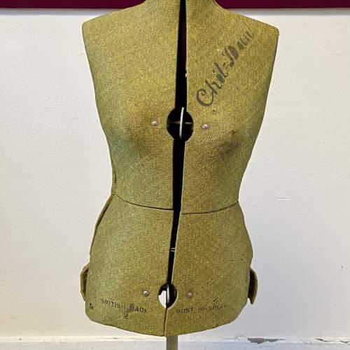 Vintage 1950s Chil-daw Dressmakers Mannequin image-2