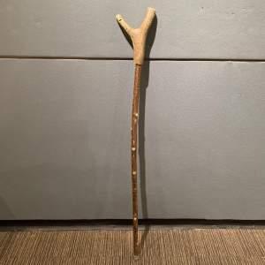 Vintage Stag Antler Thumb Stick