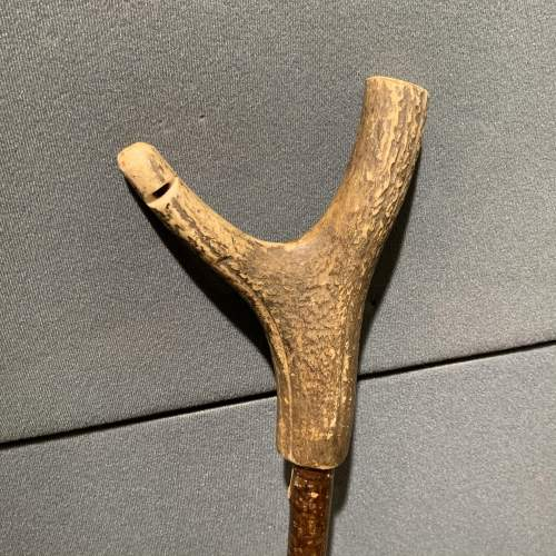 Vintage Stag Antler Thumb Stick image-2