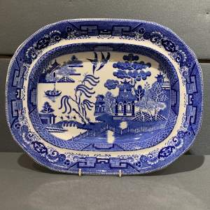 19th Century Wedgwood Meat Plate