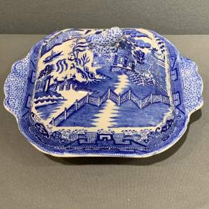Wedgwood Blue and White Tureen