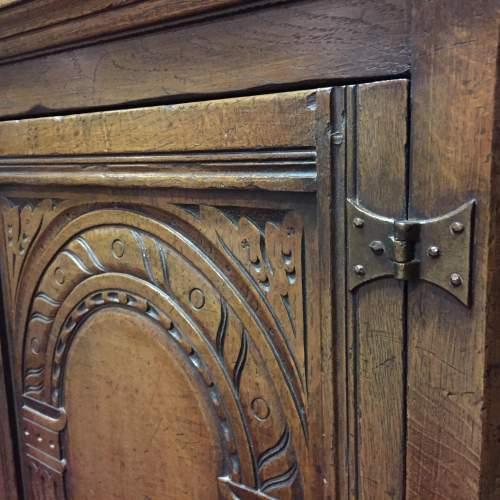 Solid Oak Corner Cabinet image-4