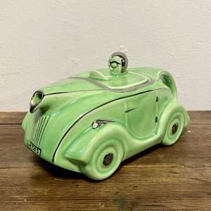 Art Deco Racing Car Teapot