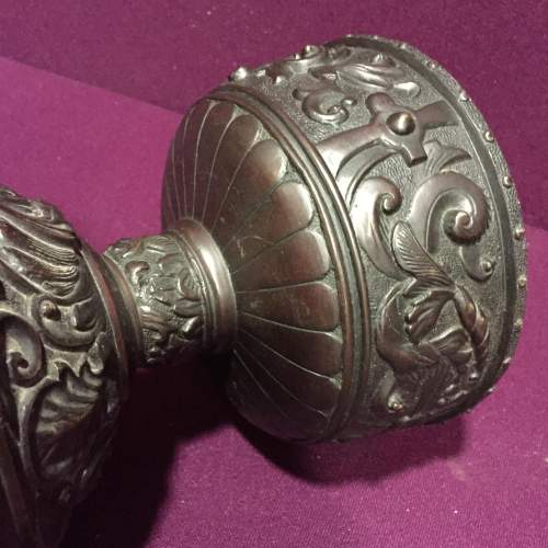 Oriental Bronze Urn image-4