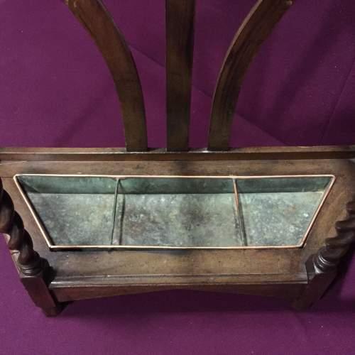 Barley Twist Oak Stick Stand image-3