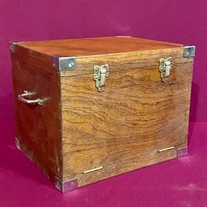 1950s Handmade Wooden Trolling Box