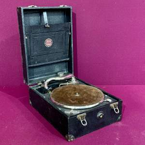 Early 20th Century Antoria Portable Gramophone