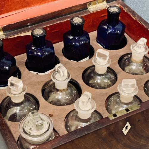 Antique Military Apothecary Cabinet image-3